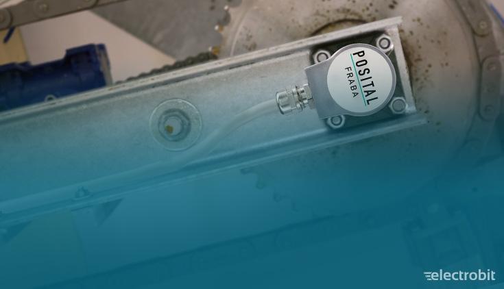 Electrobit - Enkoodrid ja kaldeandurid: Posital enkoodrid