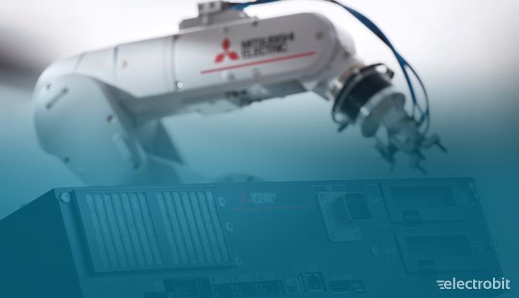 Electrobit - Tööstusrobotid: Mitsubishi Electric industrial robot
