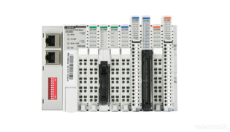 Electrobit - FnIO G kaug I/O-d: Crevis FnIO G-seeria remote I/O-s