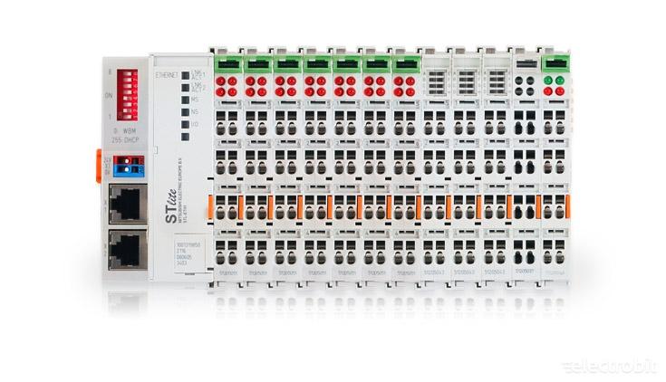 Electrobit - STlite kaug I/O-d: Mitsubishi STlite remote IO-s