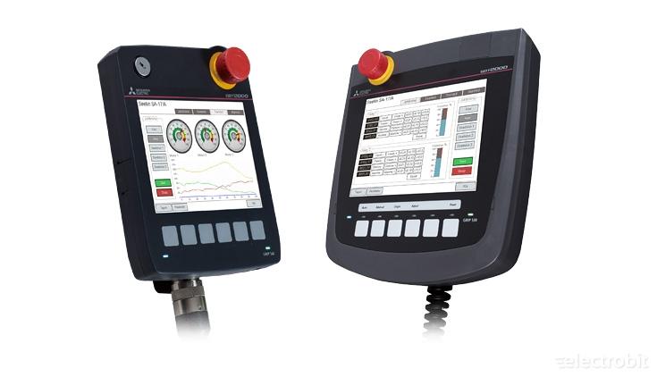 Electrobit - GT25 Handy: Mitsubishi GOT GT25 Handy operaatorpaneelid