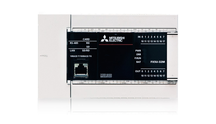 Electrobit - MELSEC iQ-F sari: Mitsubishi FX5U kontroller
