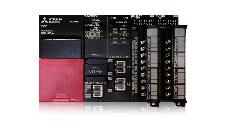 Electrobit - Moodulkontroller MELSEC iQ-R: Mitsubishi iQ-R kontroller