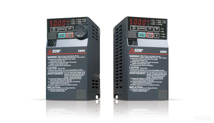 Electrobit - Sagedusmuundur FR-E800: Mitsubishi sagedusmuundur FR-E840