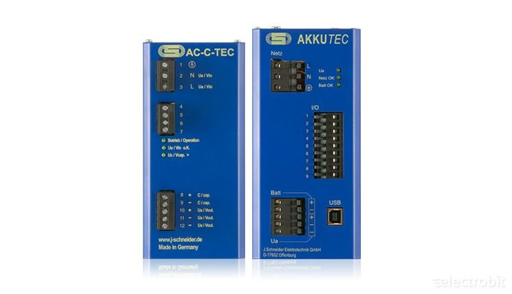 Electrobit - DC UPS-id: J.Schneider DC UPSid
